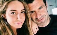 Figo are cu se mandri! Cum a pozat fiica fostului fotbalist de la Real Madrid si Barcelona
