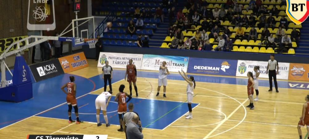 ACUM LIVE: Targoviste - Satu Mare in liga feminina de baschet! VEZI AICI MECIUL