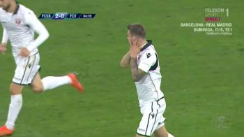 "FCSB 2-1 VOLUNTARI   GURA, FCSB!!! ""Ma injurau, m-au injurat si-acum, trebuia sa le raspund si eu cumva!"" Explicatiile gestului facut de Tudorie dupa ce a dat gol"
