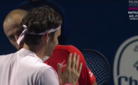 """""""Meriti sa fii rasplatit cu rezultate bune!"""" Mesajul emotionant al lui Federer dupa finala de la Basel cu Copil"""