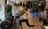 FOTO | Simona Halep trage din greu la antrenamente! A inceput recuperarea