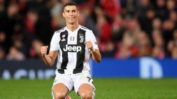 """""""Am avut oferta de CINCI ORI mai mare decat cea de la Juventus"""". Ronaldo a dezvaluit cine i-a oferit un munte de bani in vara, dar si de ce a ales Italia"""