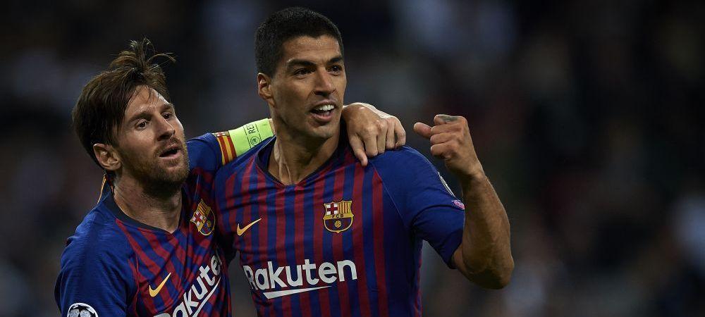 Ce au facut Messi si Suarez dupa victoria categorica a Barcelonei in El Clasico! Fotografia publicata de argentinian