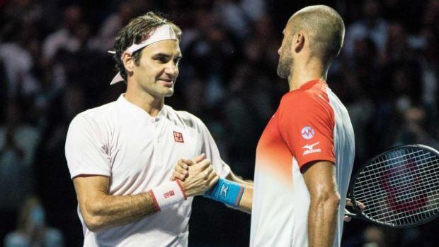 """Cred ca daca voi continua asa pot sa bat multi adversari!"" Marius Copil, increzator la revenirea in tara! Finala cu Federer i-a dat aripi"