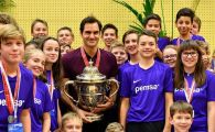 Cum a sarbatorit Federer titlul de la Basel! Lectie de modestie predata de elvetian | FOTO&VIDEO