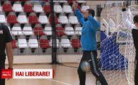 Iranianul din poarta lui Dinamo de la handbal are o poveste incredibila! Face minuni in Liga si a dat bani ca sa scape de armata