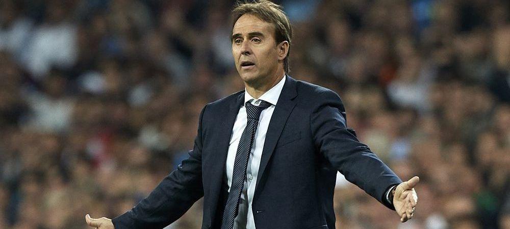 Julen Lopetegui, DEMIS de la Real Madrid! Cine e noul antrenor