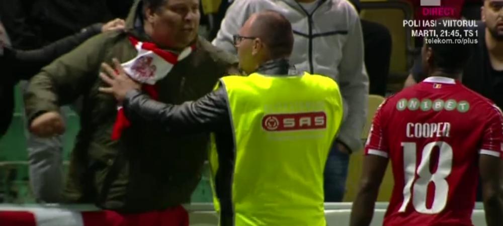 "Chiajna 0-0 Dinamo | SOCANT: au facut ca maimutele si l-au SCUIPAT pe Cooper!! ""Au tot dreptul"" Reactia INCREDIBILA a lui Rednic dupa ce Cooper a fost umilit"