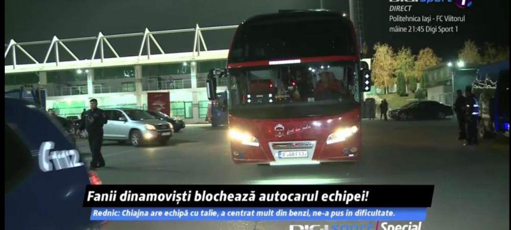 CHIAJNA 0-0 DINAMO   Momente tensionate la Chiajna! Suporterii lui Dinamo au blocat autocarul echipei. Ce s-a intamplat