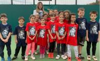 Simona Halep fura modelul Federer! Ce surpriza le-a pregatit romanca unor copii | FOTO