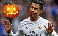 Ronaldo vrea sa-si sperie adversarii! Cum s-a pregatit Cristiano pentru Halloween | Imaginea a facut furori pe internet