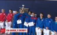 Pana sa se bata la fotbal, Steaua si Dinamo au avut mare derby la scrima! Ana Maria Branza i-a adus Stelei un nou trofeu!