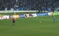 A dat la 1 KM distanta de poarta, mingea a IESIT din stadion! Cel mai PROST penalty pe care l-ai vazut vreodata. Unde a putut sa suteze fostul dinamovist Nascimento de la 11 metri