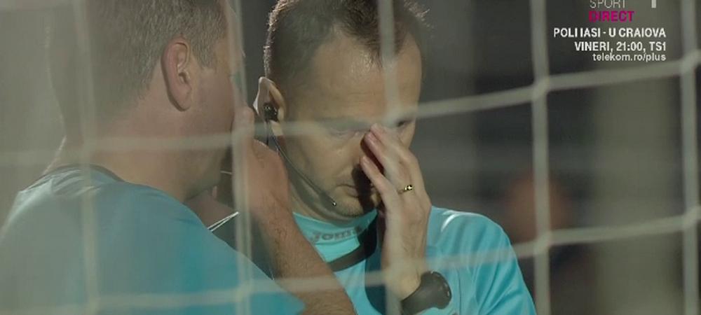 """EXCLUSIV! Verdictul lui Craciunescu dupa REPETAREA penalty-ului de la Csikszereda - Dinamo: """"O enormitate!"""""""