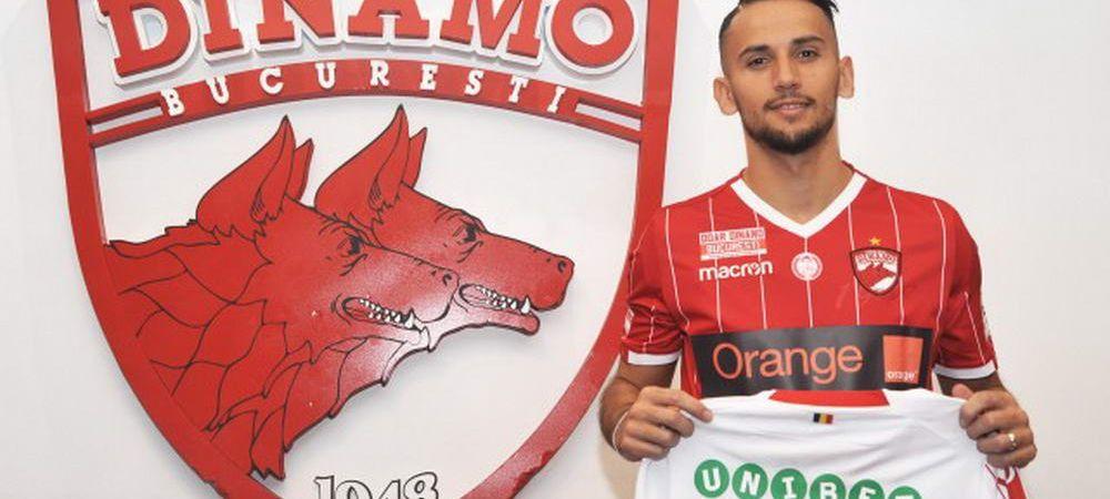 ALIJI in the house! :) Dinamo a mai facut un transfer! Anuntul OFICIAL al clubului