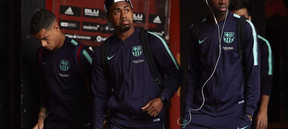 E ca si plecat de la Barcelona! Catalanii vor sa scape de fotbalistul pe care l-au comparat cu Neymar