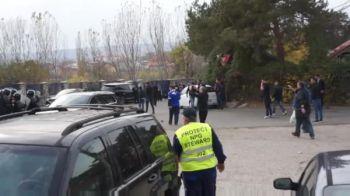 VIOLENTE TERIBILE in Craiova! 9 jandarmi au ajuns la spital dupa o confruntare cu suporterii echipei lui Mititelu