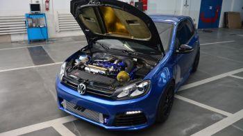 Cum arata Golf-ul tunat de fiul lui Dragnea cu 80.000 de euro! Are cel mai PUTERNIC motor din lume! VIDEO