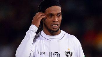 Incredibil: cati bani a ajuns sa aiba Ronaldinho in conturile bancare! E aproape falit!