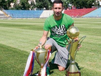 Un campion al Romaniei e antrenor din Liga a 3-a si jucator in a 4-a! GENIAL: echipa pe care o antreneaza are mai putine goluri decat a dat el pentru echipa la care joaca :))