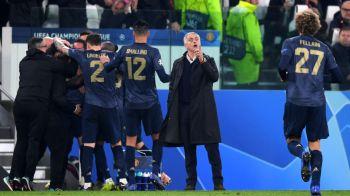 JUVENTUS - MANCHESTER UNITED | Pur si simplu nu s-a putut abtine! Gestul facut de Mourinho dupa victoria COLOSALA cu Juventus | FOTO