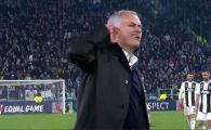 """Prima reactie a lui Mourinho dupa gestul facut la finalul meciului cu Juventus! """"Am vrut sa aud mai multe injuraturi!"""" Antrenorul lui United, dezlantuit"""