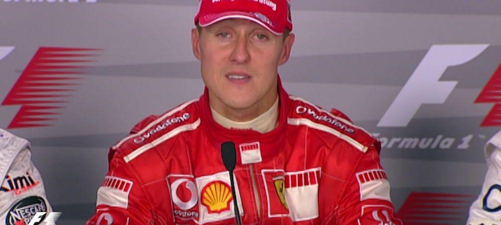 """""""E extraordinar!"""" Mesaj RAR din partea familiei lui Michael Schumacher! Anunt de ULTIMA ORA"""