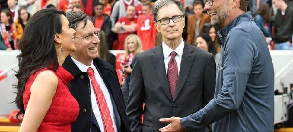 Liverpool, scos la vanzare! Pretul urias cerut pentru echipa lui Klopp: o ruda a seicului de la City a vrut sa cumpere clubul