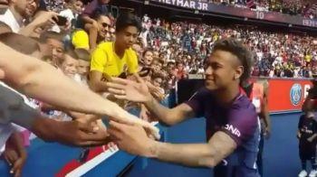 Clauza uluitoare din contractul lui Neymar, publicata de francezi: 4.5 milioane euro pe an pentru ca II SALUTA PE FANI