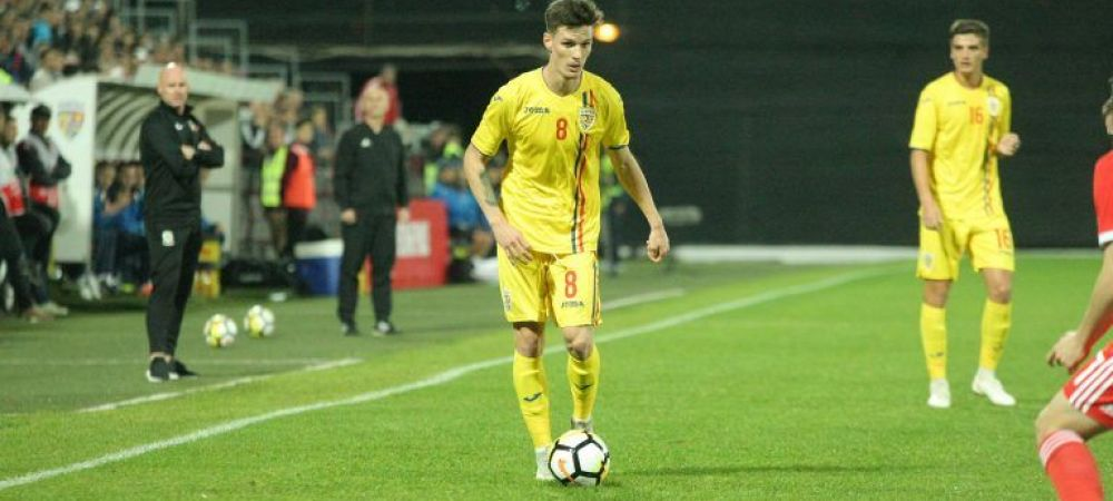 Radoi a anuntat lotul U21: i-a inlocuit pe Ianis Hagi, Pascanu, Puscas si Ivan, chemati de Contra! Romania - Belgia e joi, 19:00, la PRO X