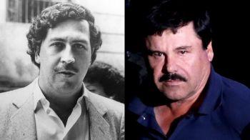 Cine a fost mai bogat dintre El Chapo si Pablo Escobar. Cati bani au facut cei mai mari traficanti din istorie