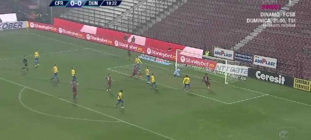 CFR 0-0 Dunarea | Lovitura NEASTEPTATA in lupta pentru titlu: CFR poate fi egalata de FCSB dupa egalul cu Calarasi! AICI ai fazele meciului