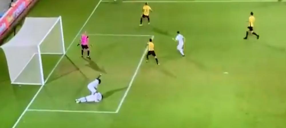 FARA CUVINTE! Golul SEZONULUI, marcat de un fost stelist! E incredibil ce s-a intamplat pe teren in doar cateva secunde | VIDEO FABULOS
