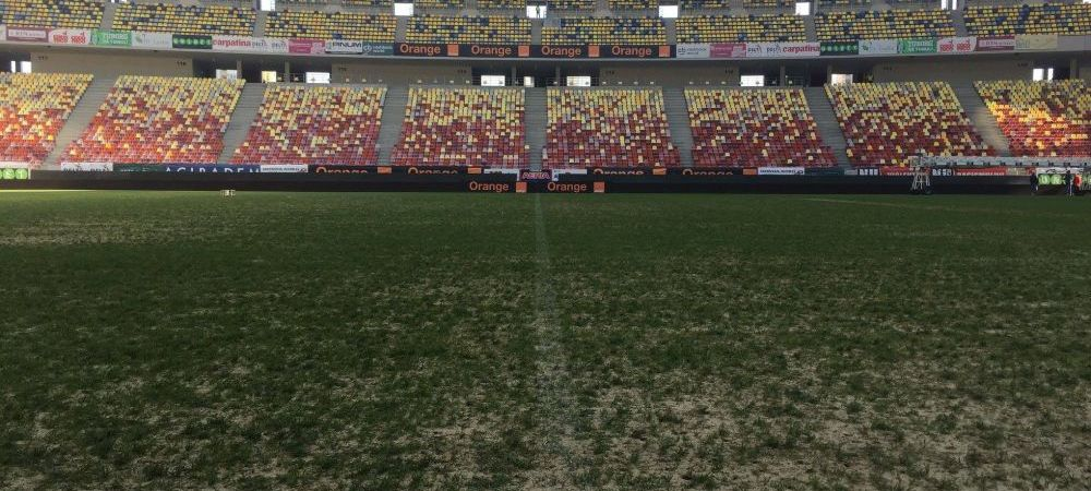 Dinamo - FCSB, LIVE 21:00 | Derby ca la plaja pe National Arena! Cum arata gazonul cu cateva ore inainte de meci. FOTO
