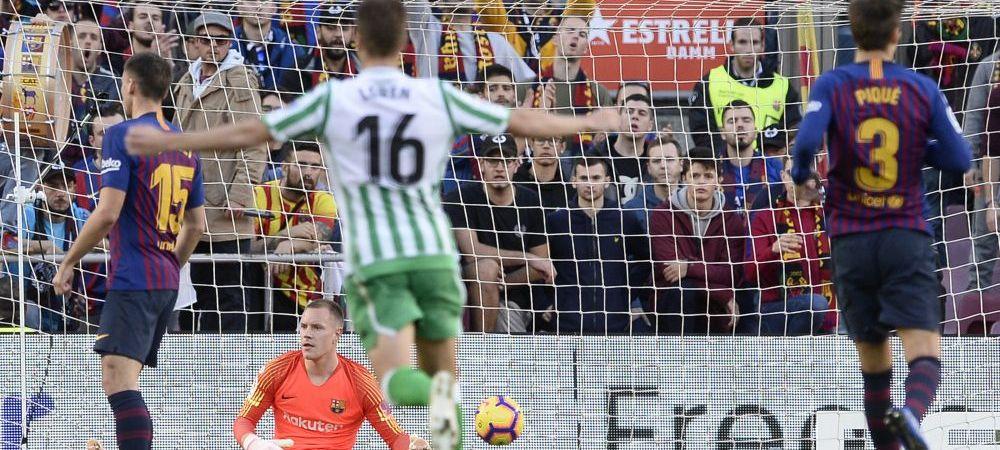 BARCA - BETIS 3-4 | Faza EXTRATERESTRA a Barcelonei, Messi nu s-a putut bucura! Meci NEBUN pe Camp Nou, Ter Stegen a ingropat-o pe Barca