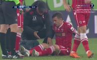 Dinamo - FCSB | NISTOR, OUT!!! S-a accidentat, dar a facut eforturi URIASE ca sa nu iasa! Ce s-a intamplat
