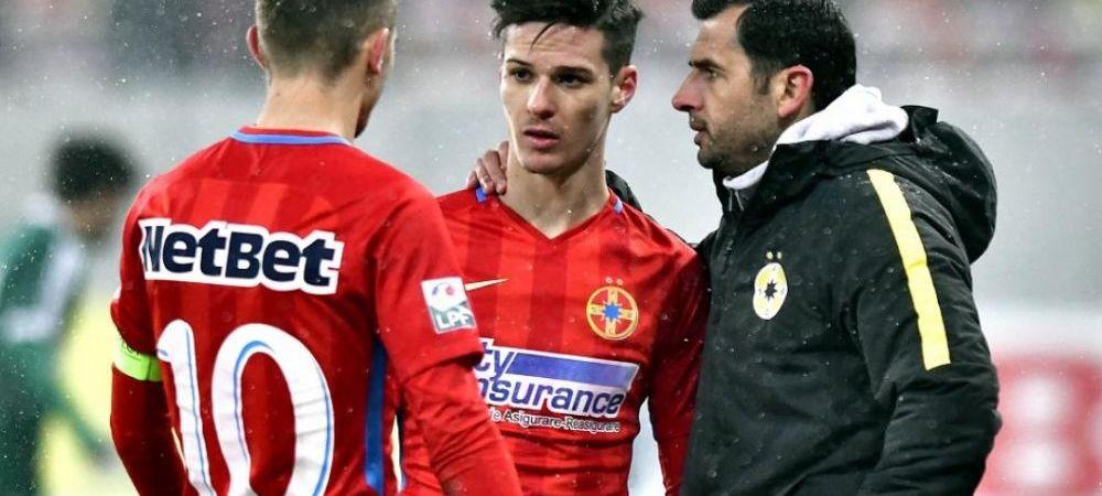 """""""Si-a luat masina de 100.000 de euro si acum sta pe teren! Se crede mare fotbalist"""" Unul dintre tinerii FCSB-ului, criticat dupa derby"""