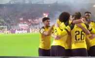 Clipul pe care e INTERZIS sa-l vezi fara sunet!!! Ce s-a intamplat in peluza lui Dortmund la goluriel victoriei cu Bayern