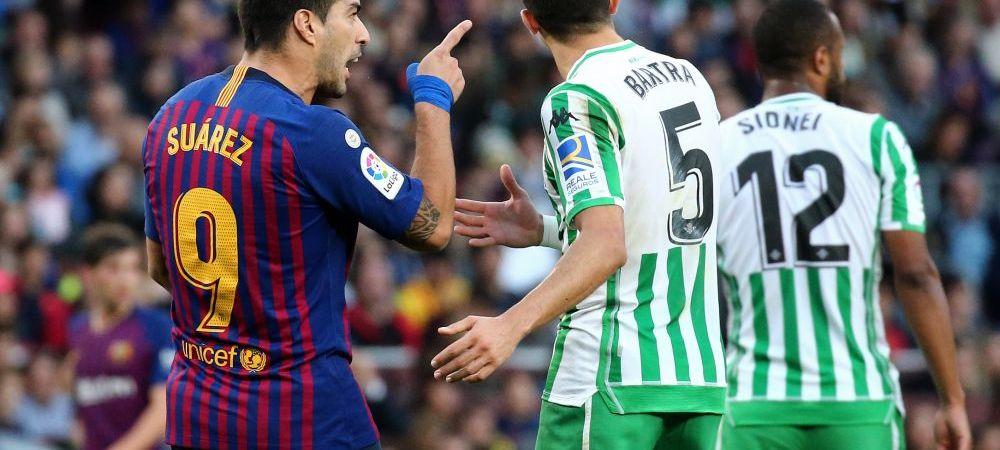 """""""Nu te pune cu mine!"""" Situatie incendiara la Barca! Suarez l-a luat la injuraturi pe Pique dupa infrangerea cu Betis! Cum a raspuns fundasul"""