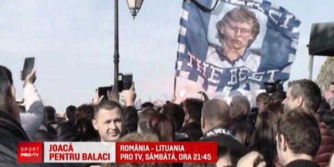 Mitrita vrea sa-i dedice primul gol la nationala lui Ilie Balaci! Poate inscrie in meciul cu Lituania, sambata de la 21:45 la PRO TV