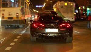 Cine conduce acest McLaren cu numere de Braila pe strazile din Bucuresti. Cu ce se ocupa