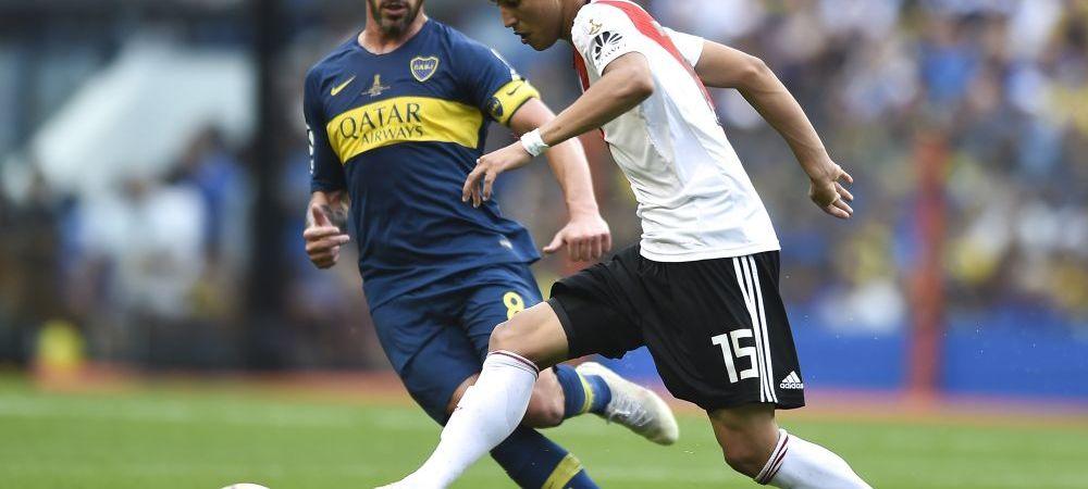 Real Madrid a reusit primul transfer al iernii! 20 de milioane de euro pentru cel mai bun jucator al lui River: cum l-a convins Solari