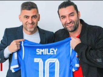 Oltenii au transferat un nou numar 10! Smiley a purtat tricoul si il face invidios pe cel mai mare fan al Craiovei, Bobonete!