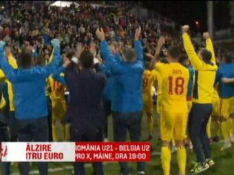 Romania U21 - Belgia U21, joi 19.00 Pro X | Radoi nici nu se gandeste sa plece de la tineret:  Doar daca sunt dat afara ma gandesc la alte oferte