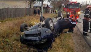 A fost implicat intr-un accident rutier. Cine se afla la volanul acestui Duster