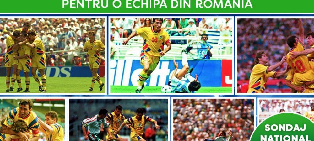 CEL MAI MARE SONDAJ NATIONAL | AICI alegi cel mai tare gol marcat VREODATA pentru o echipa din Romania!!! Hagi contra Columbiei vs Ilie Dumitrescu in fata Argentinei vs Adi Ilie 98?