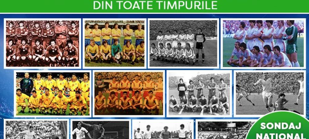 CEL MAI MARE SONDAJ NATIONAL   Generatia de Aur vs Steaua 86 vs Dinamo 90! Care e cea mai buna echipa romaneasca din 100 de ani de Romania? AICI VOTEZI