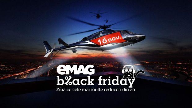 BLACK FRIDAY 2018 | eMAG a publicat primele oferte! Reduceri uriase la telefoane mobile, televizoare, laptopuri, anvelope de iarna