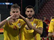 ROMANIA U21 3-3 BELGIA U21   MESERIASII ROMANIEI! Olaru si Ciobanu inscriu in 2 minute si Romania ramane neinvinsa! Toate fazele VIDEO