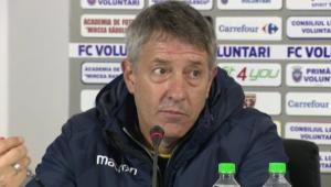 """""""E presiune si la titlu, si la retrogradare!"""" Bergodi s-a intors in Liga 1! Voluntari l-a prezentat azi oficial"""